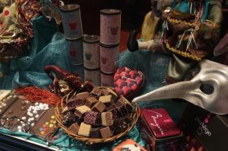 Chocolates from La Belgique Gourmande.